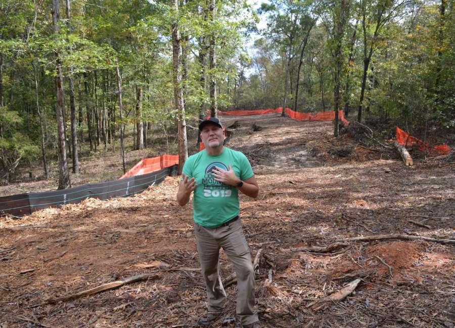 Construction underway for Chatt-Bend greenway