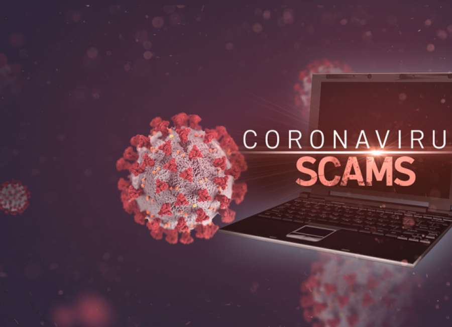 Coronavirus scams on rise
