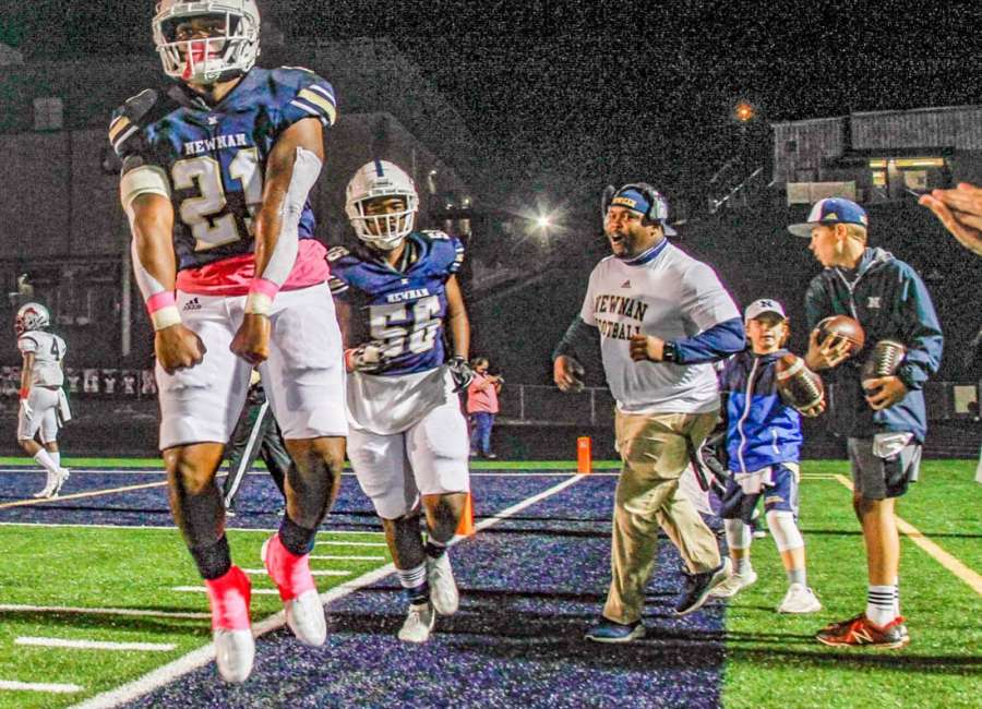 Cougars remain undefeated after trouncing MLK Lions, 41-6