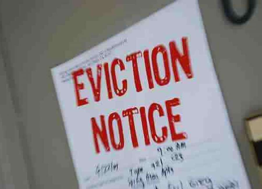Courts not hearing evictions