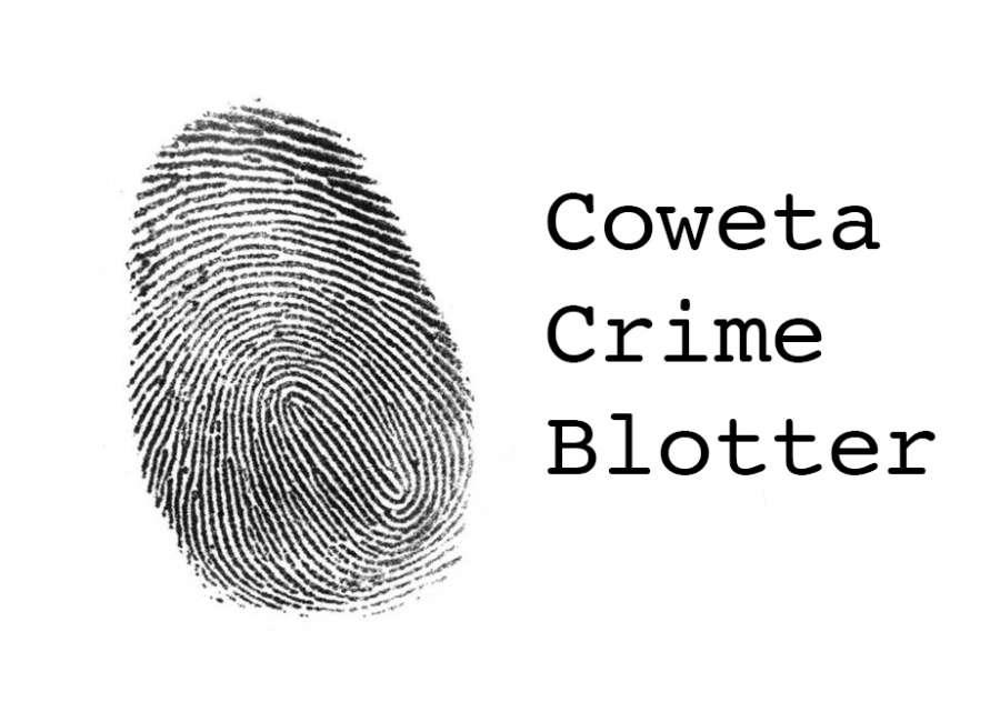 Coweta Crime Blotter