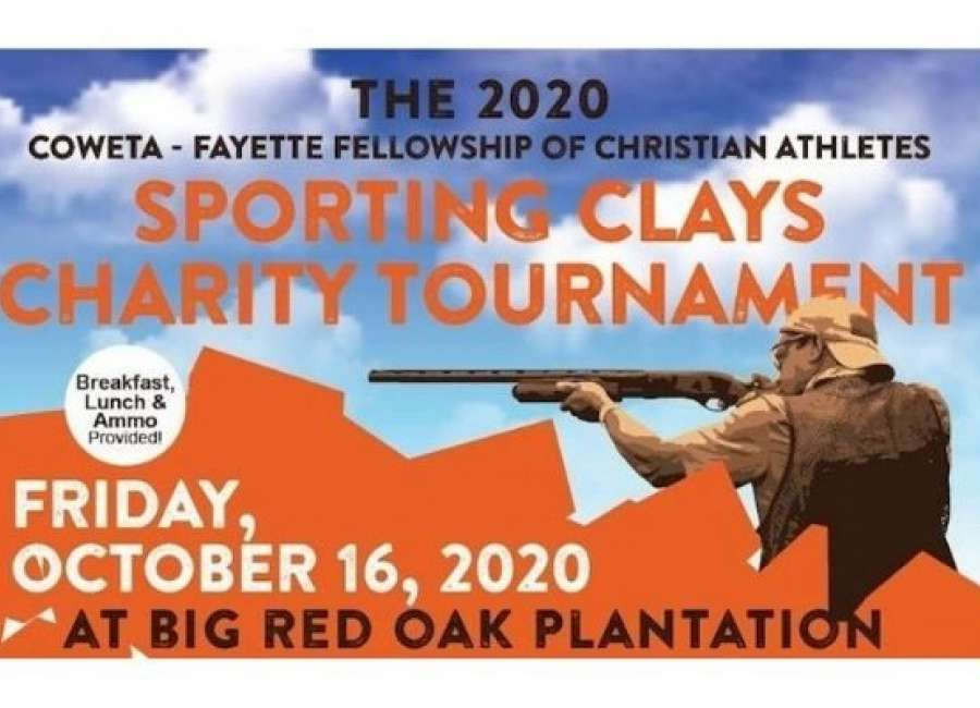 Coweta FCA's Sporting Clays Tournament will be held Oct. 16
