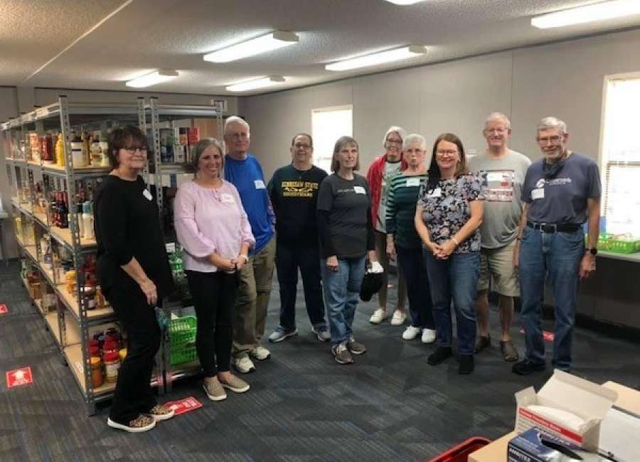 Crossroads Church opens community food pantry