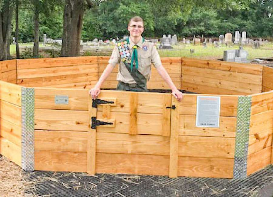 Eagle Scout builds ball pit for Haralson church