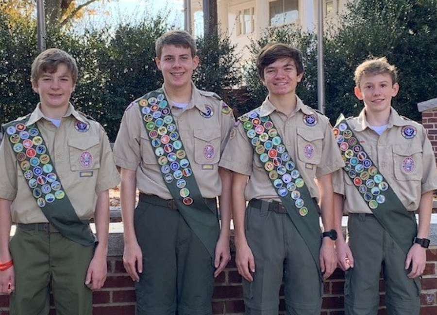 Eagle Scouts to be recognized at FUMC this weekend