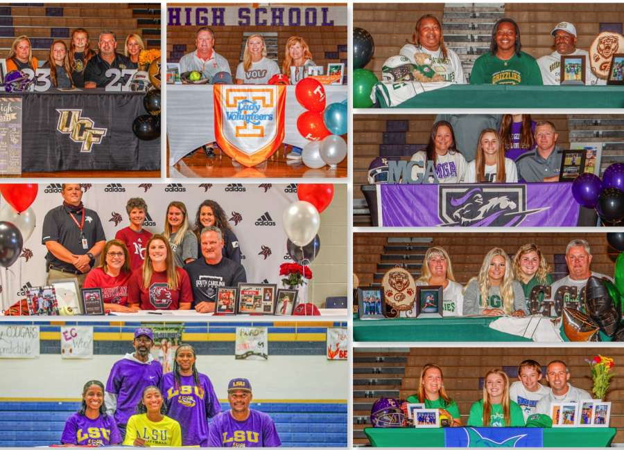 Early signing day: Coweta prep athletes announce their college picks