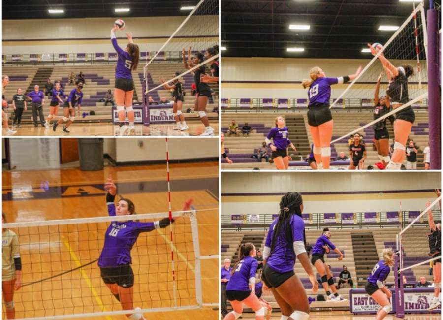 East Coweta Volleyball splits with Woodward and Landmark