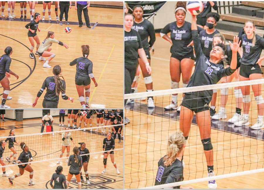 East Coweta's volleyball team concludes season in opening playoff round