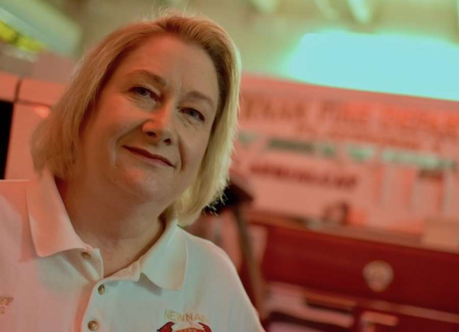 First Lady: Burks retires from Newnan Fire Department