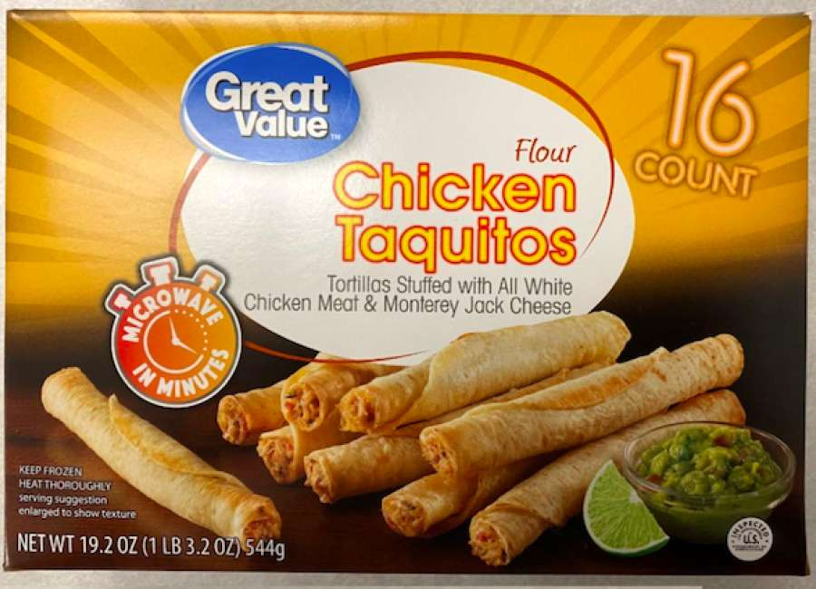 Frozen taquitos and chimichangas recalled due to plastic contamination