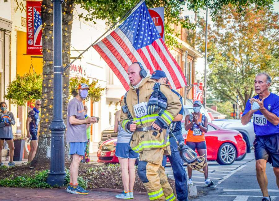 Going the distance: Firefighter rises to challenge at local 5K