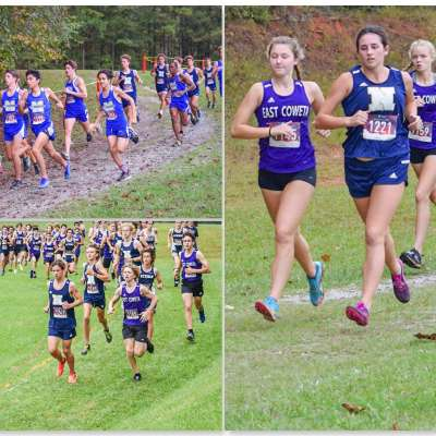 Gold shines through at muddy cross-country region meet