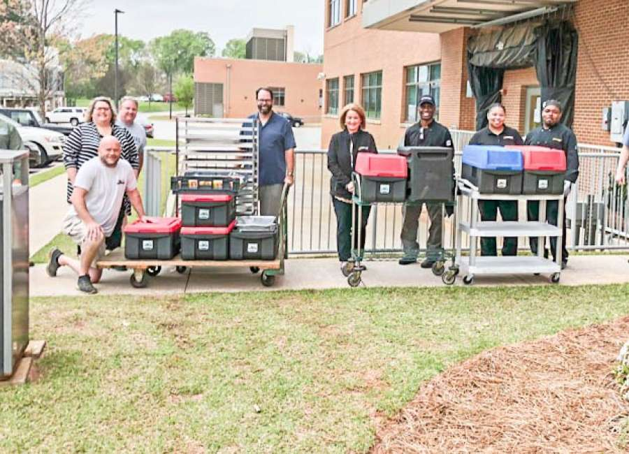 Groups partner to feed Piedmont staff