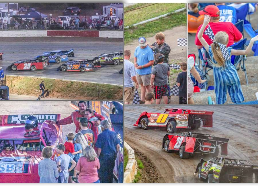 Hale storm at Senoia Raceway highlights Gumbo Series opener
