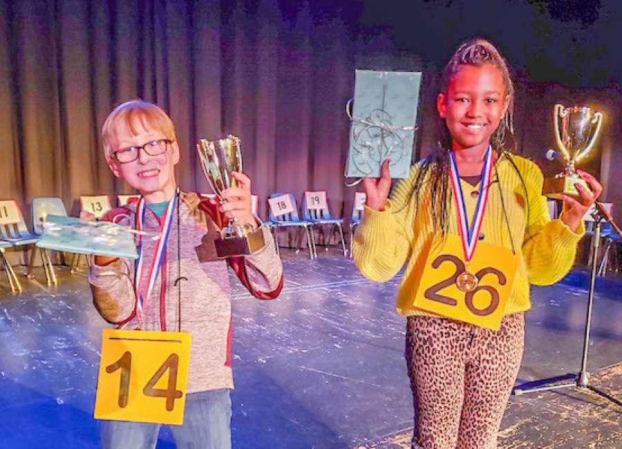 Hamman wins Coweta County Spelling Bee