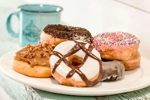 Heirloom Market selling donuts for a cause