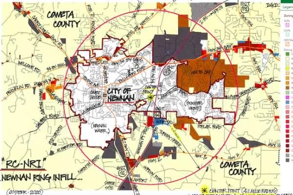 Higher density 'Ring' proposed around Newnan