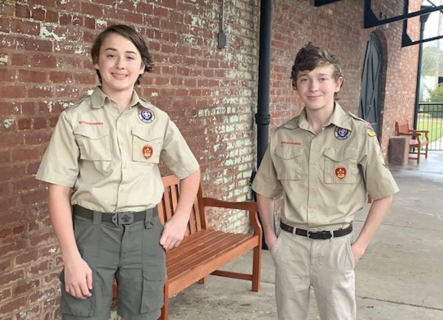 Historic Train Depot 'passenger' ready thanks to Eagle Scouts