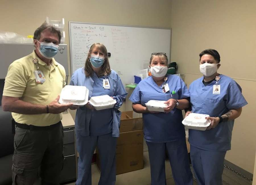 Holland M. Ware Charitable Foundation donates meals to Piedmont staff