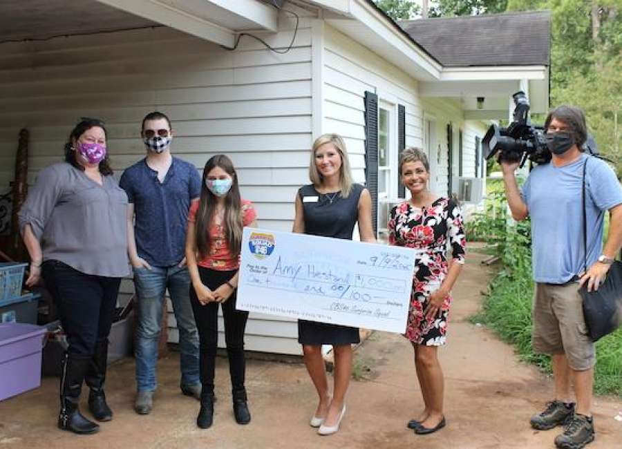 Hometown Book Nook featured by CBS46's Surprise Squad