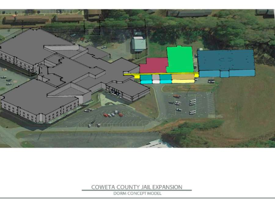 Jail expansion plan presented