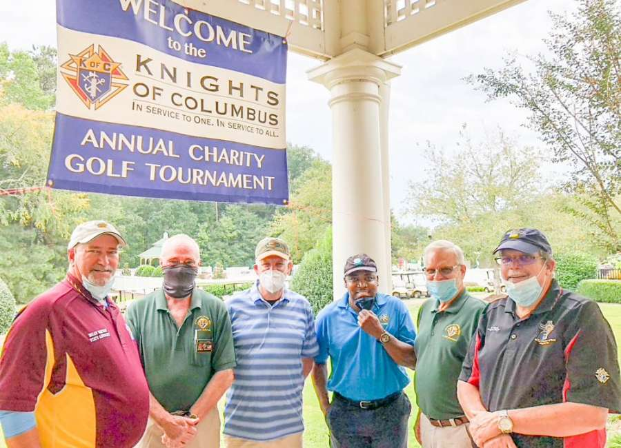 Knights of Columbus hold 14th annual golf tournament