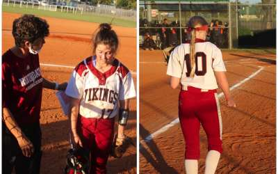 Lady Vikings win first series, will host Union Grove in Second Round