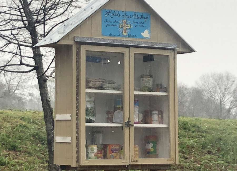 Little Free Pantry searching for sponsors