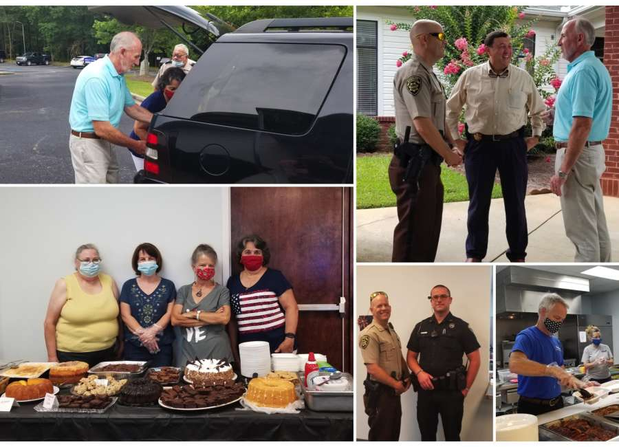 Local church honors Coweta law enforcement