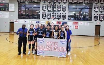 Lucky seven: Central Christian wins another state girls basketball title