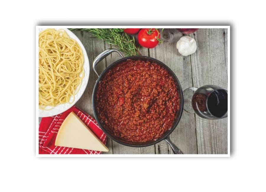 Make homemade sauce for National Sauce Month