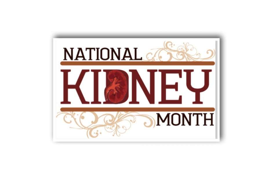 March observed as National Kidney Month