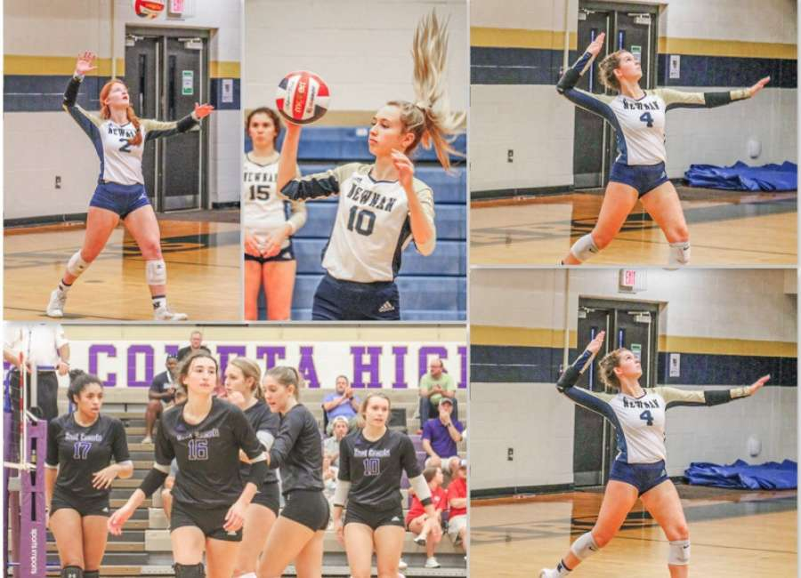 Newnan and East Coweta Volleyball play for Region Championship on Wednesday