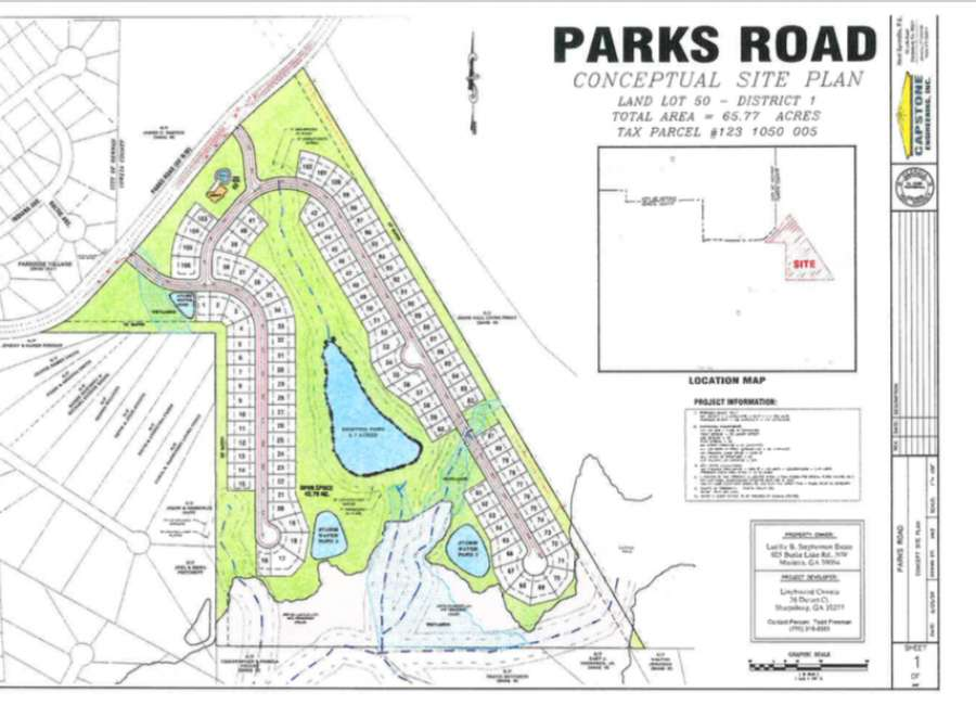 Newnan annexes more land on Parks Road