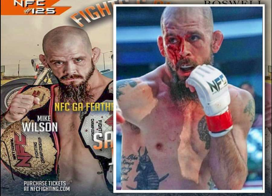 Newnan MMA fighter Mike Wilson prepares for fourth title at NFC 125