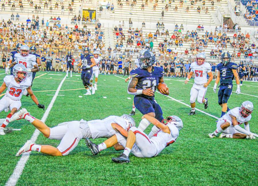 Cougars dominate home opener against Whitewater 42-17