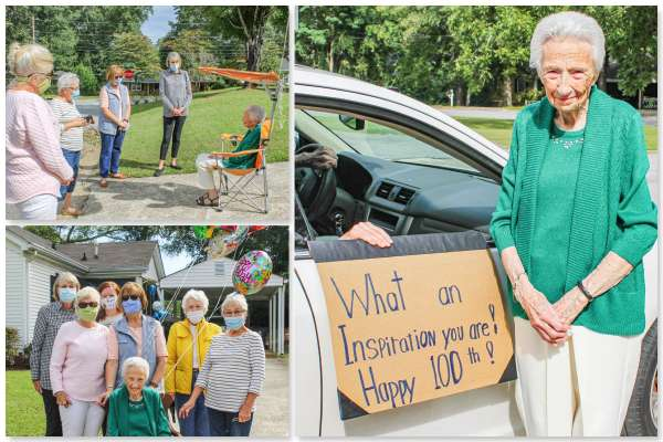 Newnan resident celebrates 100th birthday