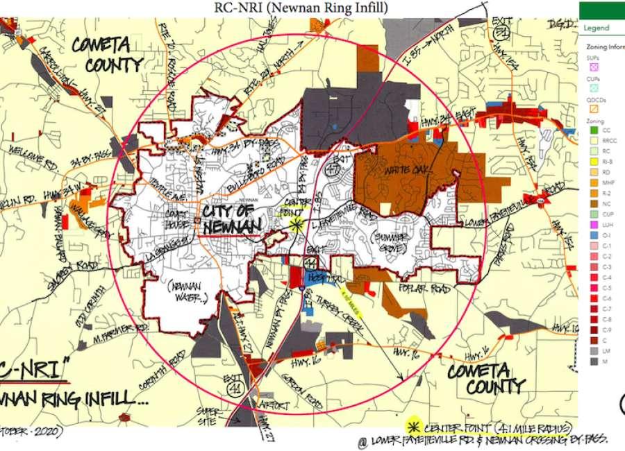Newnan Ring rejected, but higher density endorsed