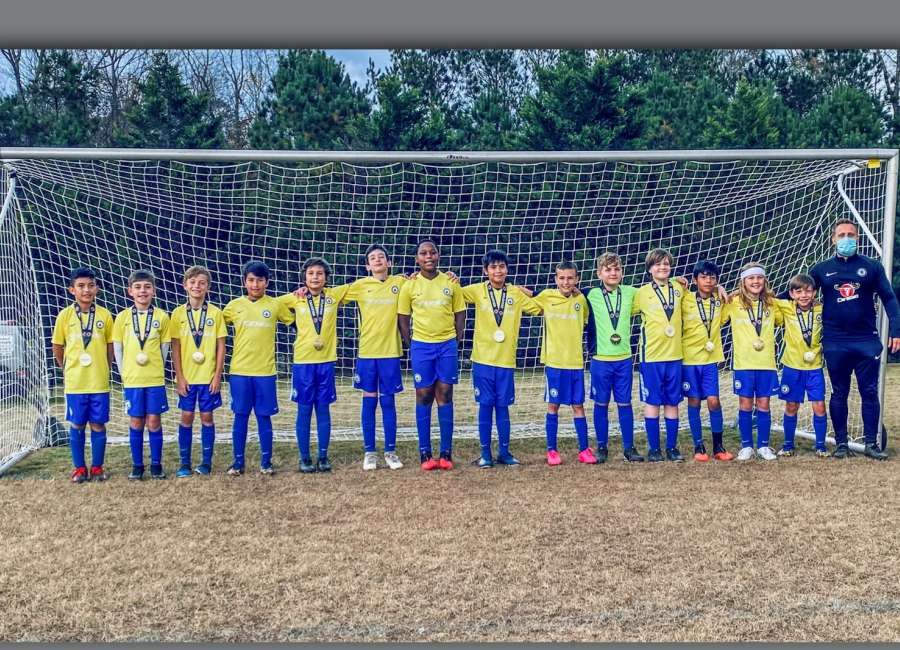 Newnan youth team takes championship in soccer tournament