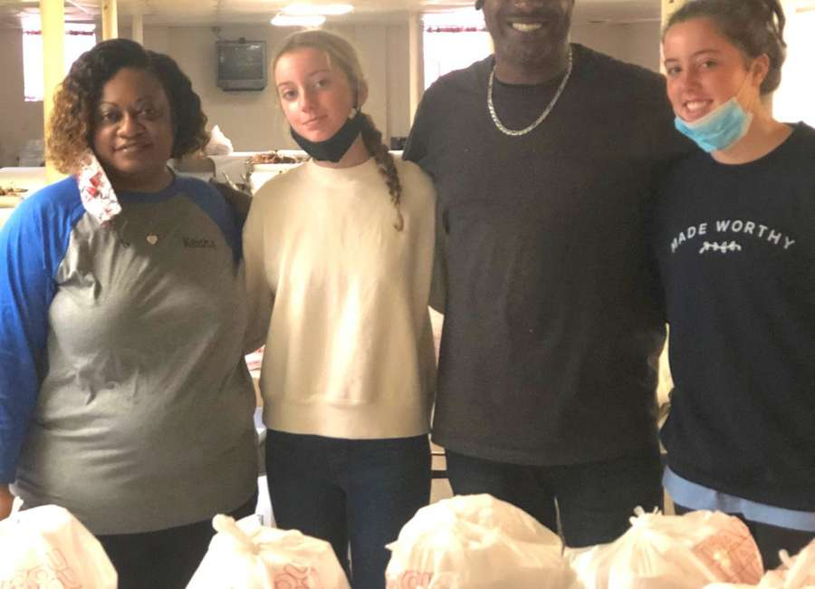 Organizations share Thanksgiving bounty with the community