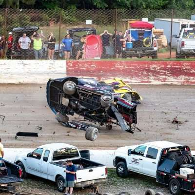 Orr breaks winless streak at Senoia Raceway