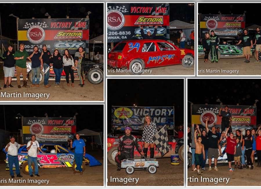 Overton wins Head, Jr., Memorial Race at Senoia Raceway