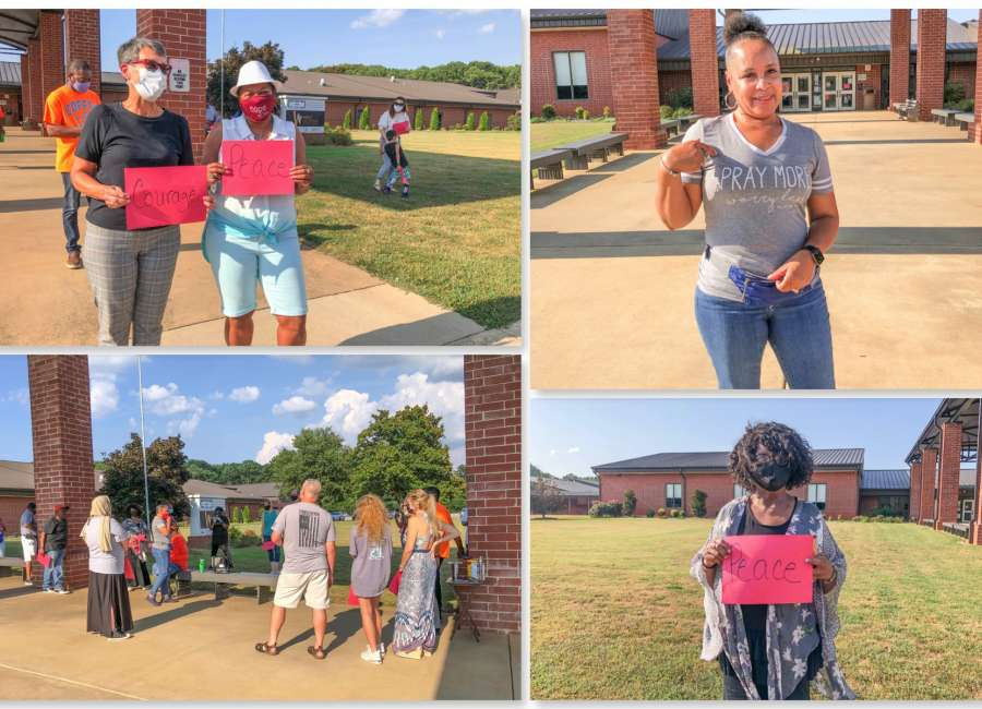 Prayer event in Newnan brings community together