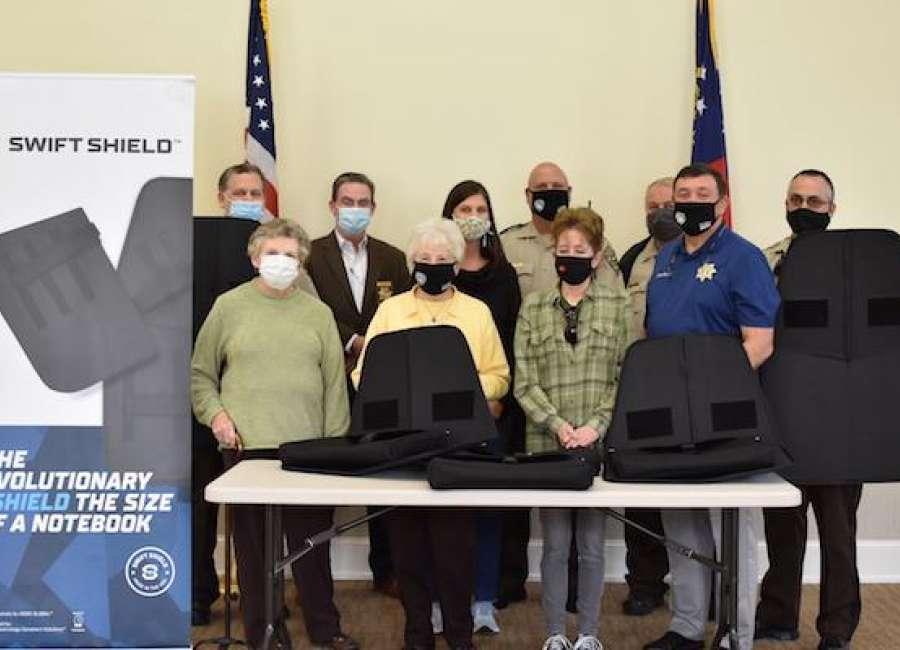 Public Safety Foundation donates ballistic shields to CCSO