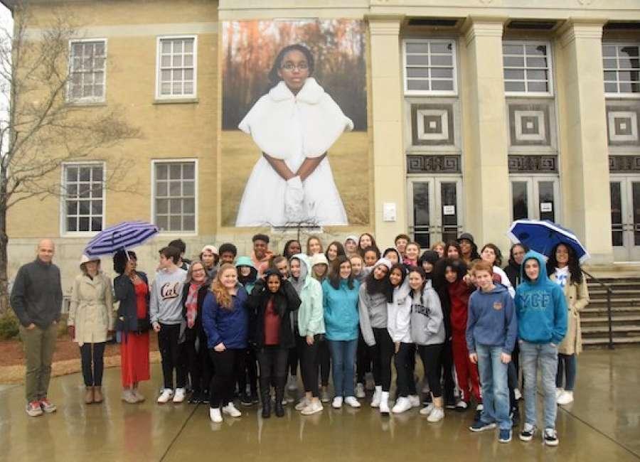 Rhode Island students visit Newnan on civil rights tour