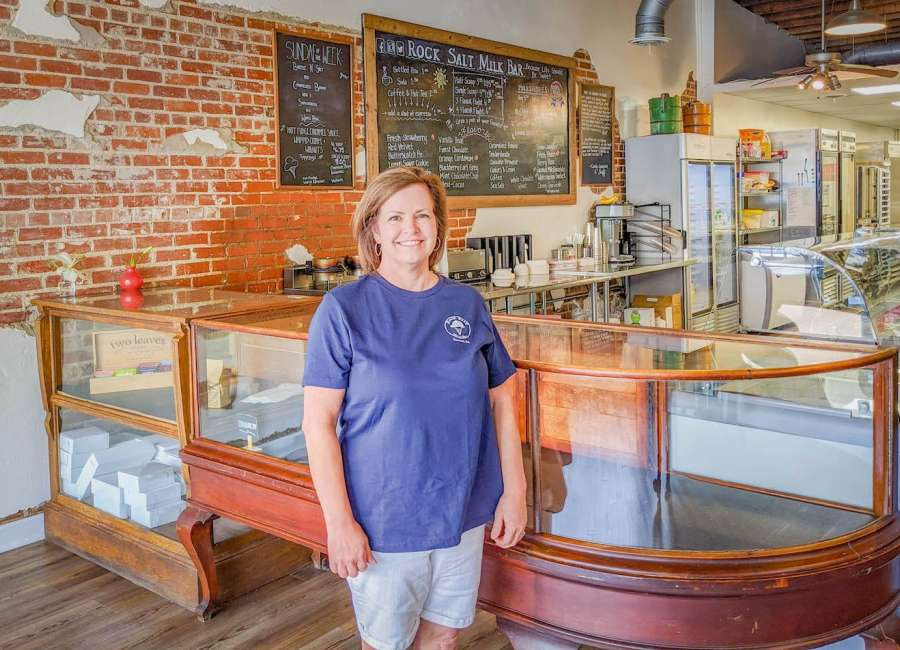 Rock Salt Milk Bar offers ice cream, cookies and smiles