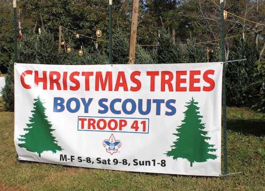 Scout Troop 41 hosting annual Christmas tree sales