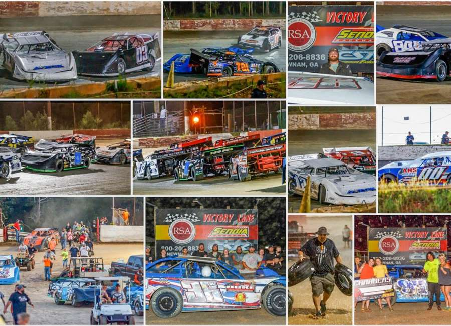 Senoia Raceway: Two championships decided prior to the rain