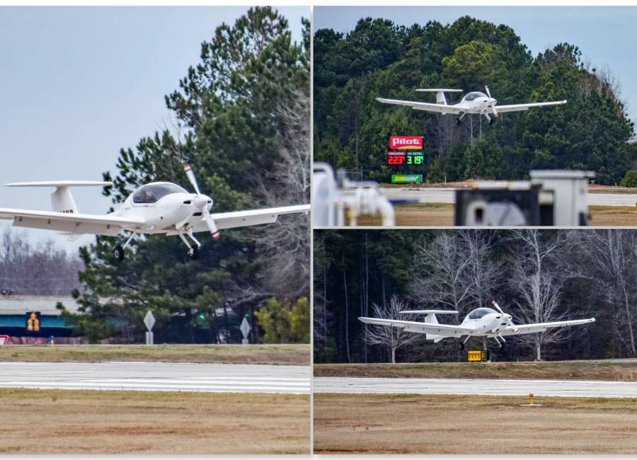 Student pilot makes emergency landing