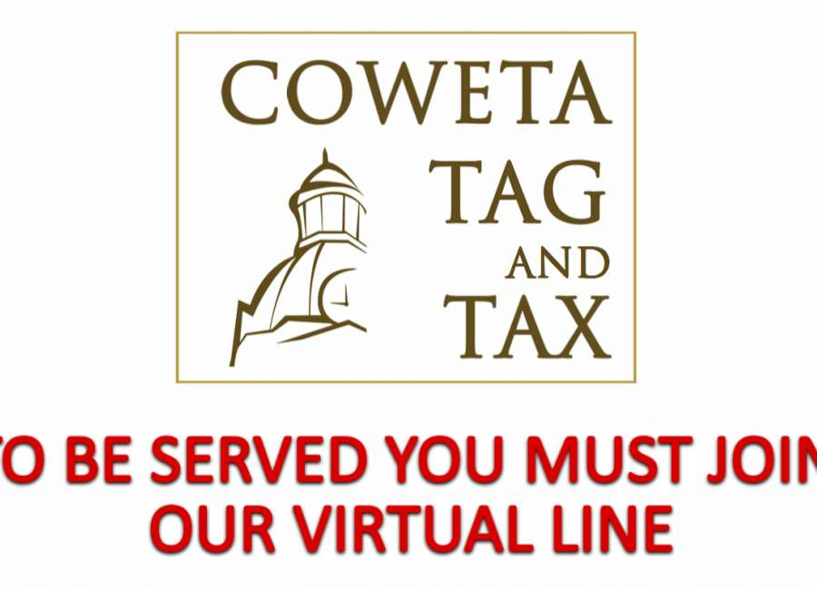 Tag office reopens, with virtual line system